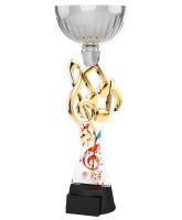 Montreal Music Notes Silver Cup Trophy