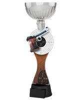 Montreal Pistol Shooting Silver Cup Trophy