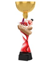 Vancouver Male Gymnast Gold Cup Trophy
