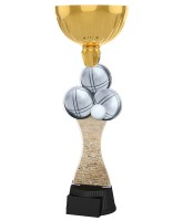 Vancouver Pétanque Balls Gold Cup Trophy