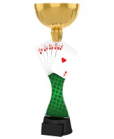 Vancouver Playing Cards Gold Cup Trophy