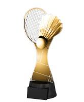 Classic Toronto Badminton Racket and Shuttlecock Trophy