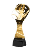 Classic Toronto Baseball Glove and Ball Trophy