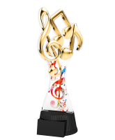 Toronto Music Notes Trophy