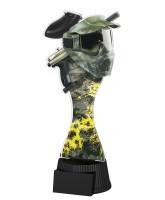 Toronto Paintball Mask and Gun Trophy