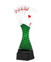 Toronto Poker Card Game Trophy