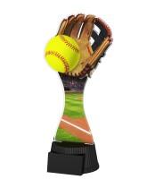 Toronto Softball Glove and Ball Trophy