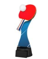 Toronto Table Tennis Bat and Ball Trophy