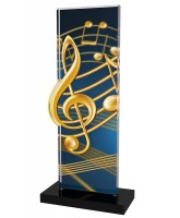 Apla Music Notes Trophy