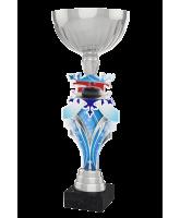 Alpine Curling Silver Cup Trophy