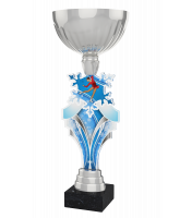 Alpine Figure Skating Silver Cup Trophy