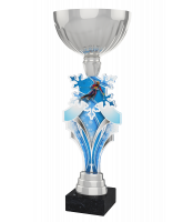 Alpine Skiing Silver Cup Trophy