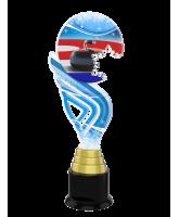 Aspen Curling Snowflake Trophy