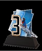 Geilo Skiing Number 3 Trophy