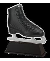 Berlin Black Boot Ice Skating Trophy