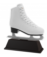 Berlin White Boot Ice Skating Trophy