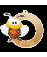Bumble Bee Basketball Medal