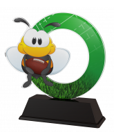 Bumble Bee Childrens American Football Trophy