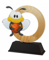 Bumble Bee Childrens Basketball Trophy