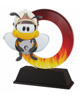 Bumble Bee Childrens Fire Fighting Trophy