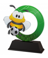 Bumble Bee Childrens Football Player Trophy