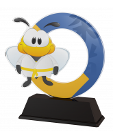 Bumble Bee Childrens Martial Arts Trophy