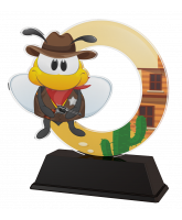 Bumble Bee Childrens Shooting Trophy