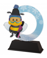 Bumble Bee Childrens Snowboarding Trophy