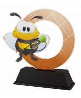 Bumble Bee Childrens Tennis Trophy
