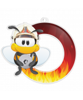 Bumble Bee Firemans Medal