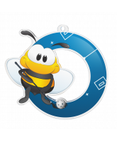 Bumble Bee Floorball Medal