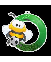Bumble Bee Football Medal