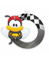 Bumble Bee Go Karting Medal