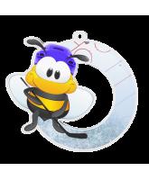 Bumble Bee Ice Hockey Medal