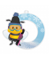 Bumble Bee Snowboard Medal