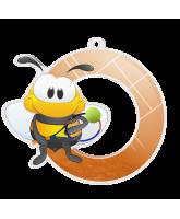Bumble Bee Tennis Medal