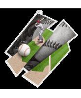Baseball Supersize Artistic Medal