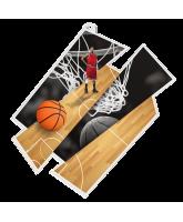 Basketball Supersize Artistic Medal