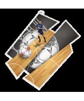 Futsal Supersize Artistic Players Medal
