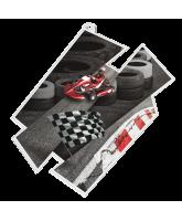 Go Karting Supersize Artistic Medal