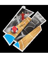 Handball Supersize Artistic Medal