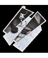 Ice Hockey Supersize Artistic Medal