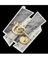 Music Supersize Artistic Medal
