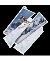 Skiing Supersize Artistic Medal