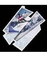 Snowboard Supersize Artistic Medal