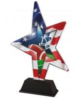 LA Star American Football Trophy