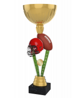 London American Football Gold Cup Trophy