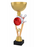 London Ten Pin Bowling Gold Cup Trophy