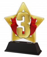 Mini Star 3rd Place Trophy