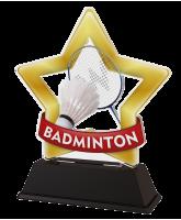 Mini Star Badminton Trophy